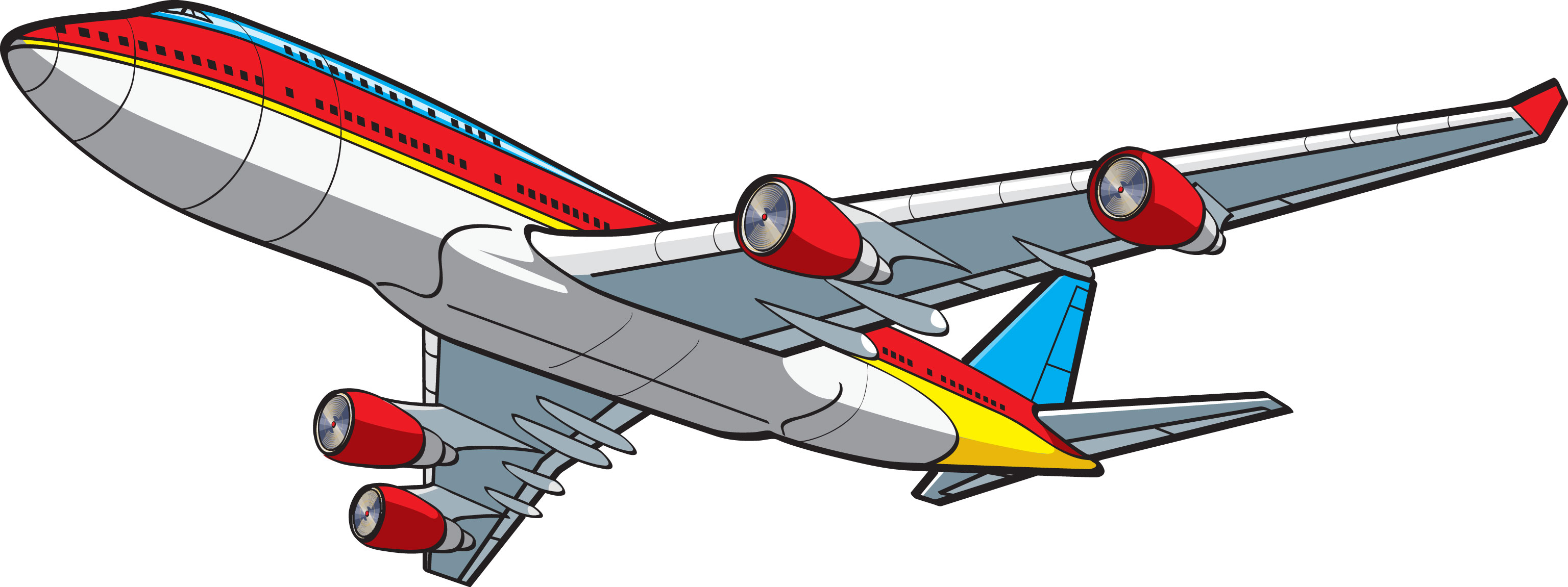 cartoon airplane clipart - photo #44