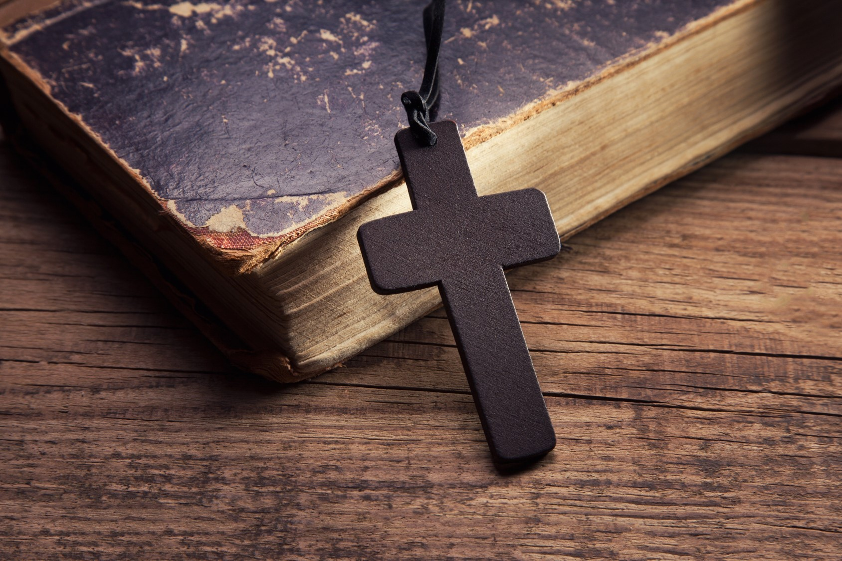 cross and the bible - photo #2