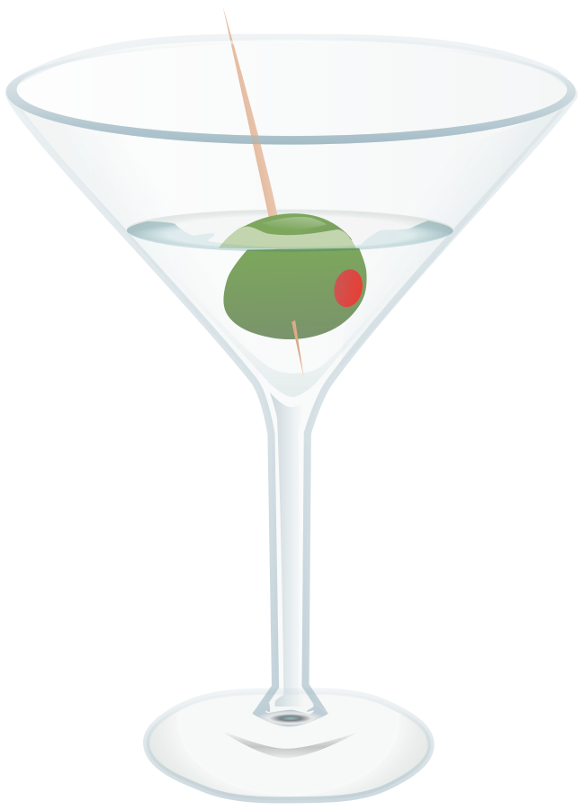 Cocktail Glass (Martini) Clipart, vector clip art online, royalty ...