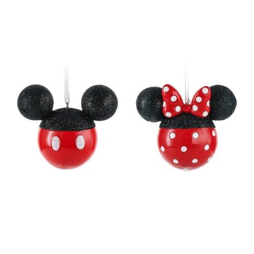 Hallmark Disney Mickey and Minnie Mouse Silhouettes Christmas ...