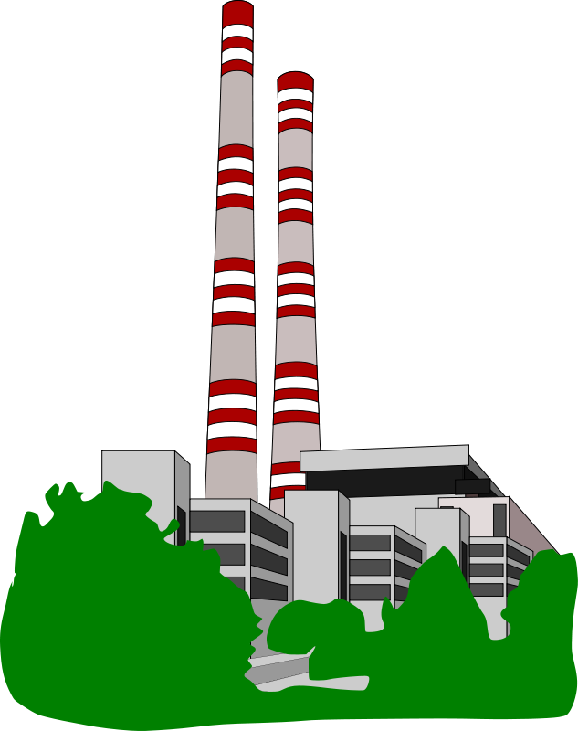 Power Plant Clip Art - Cliparts.co