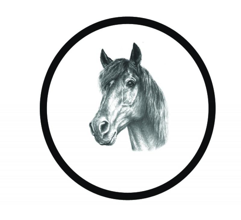 Quarter horse clip art