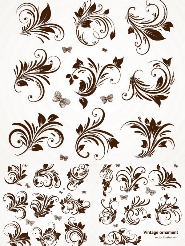 Floral | Free Stock Vector Art & Illustrations, EPS, AI, SVG, CDR ...
