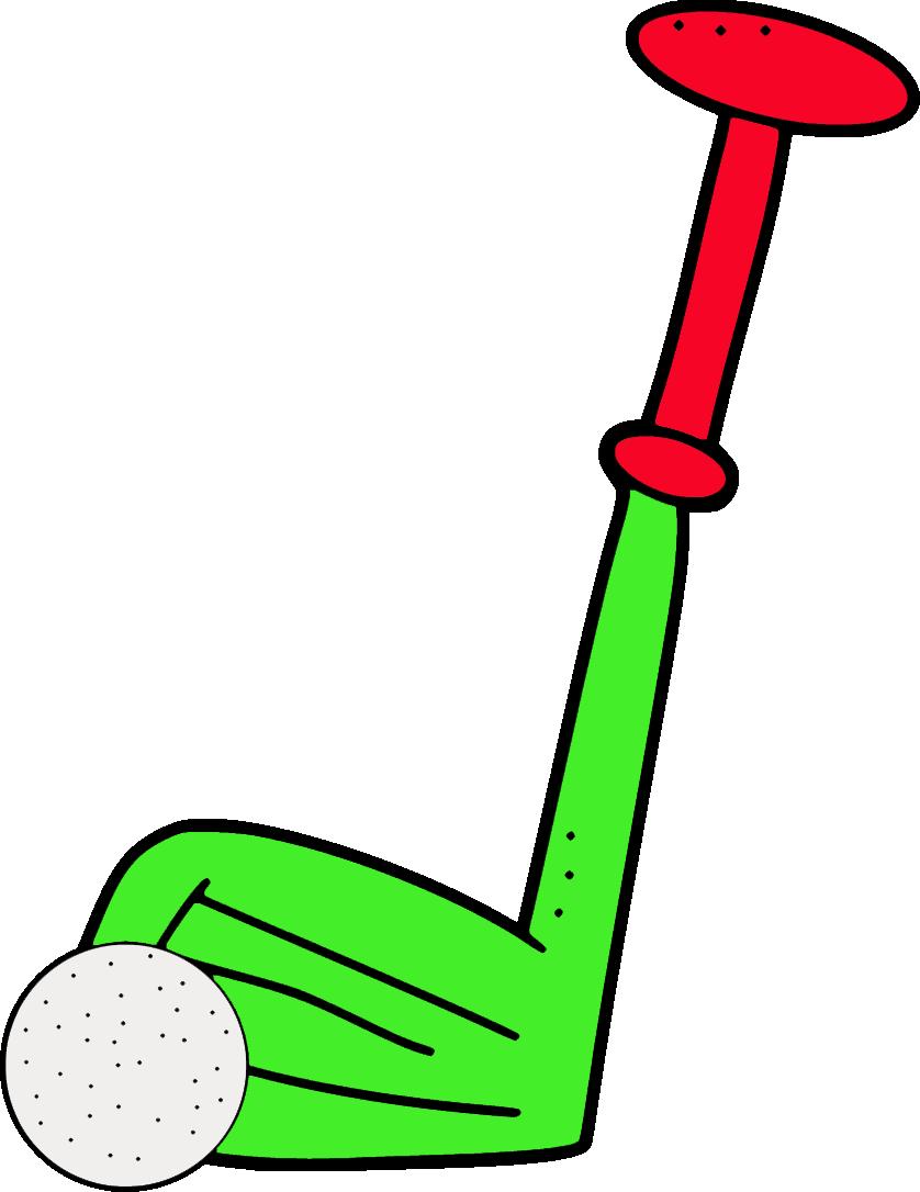 golf ball border clip art - photo #47