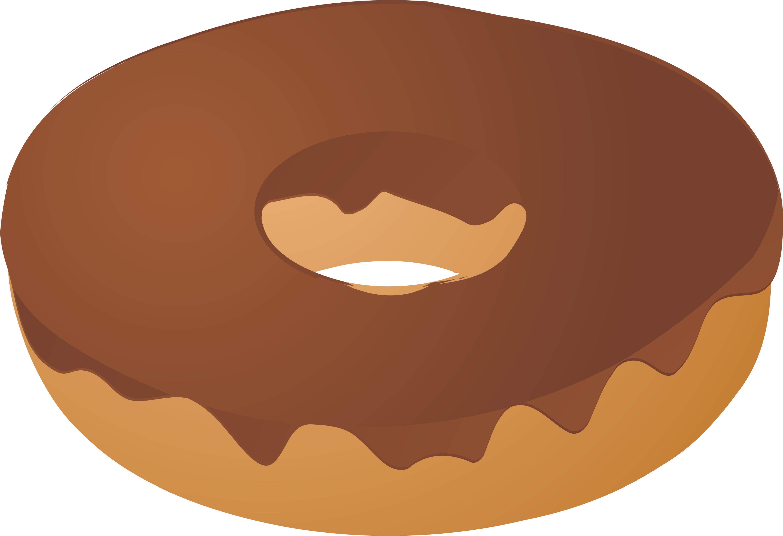 donut doughnut chocolate covered illustrationn cartoon donut clipart donut clip art free