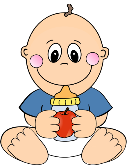 baby eating clipart - photo #13