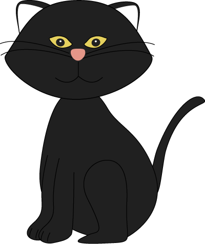Clip Art Black Cat - Cliparts.co