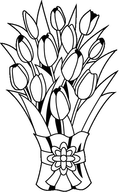 Clipart Flower Bouquet