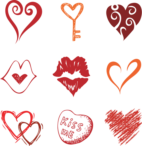 Free Vector Hearts - ClipArt Best