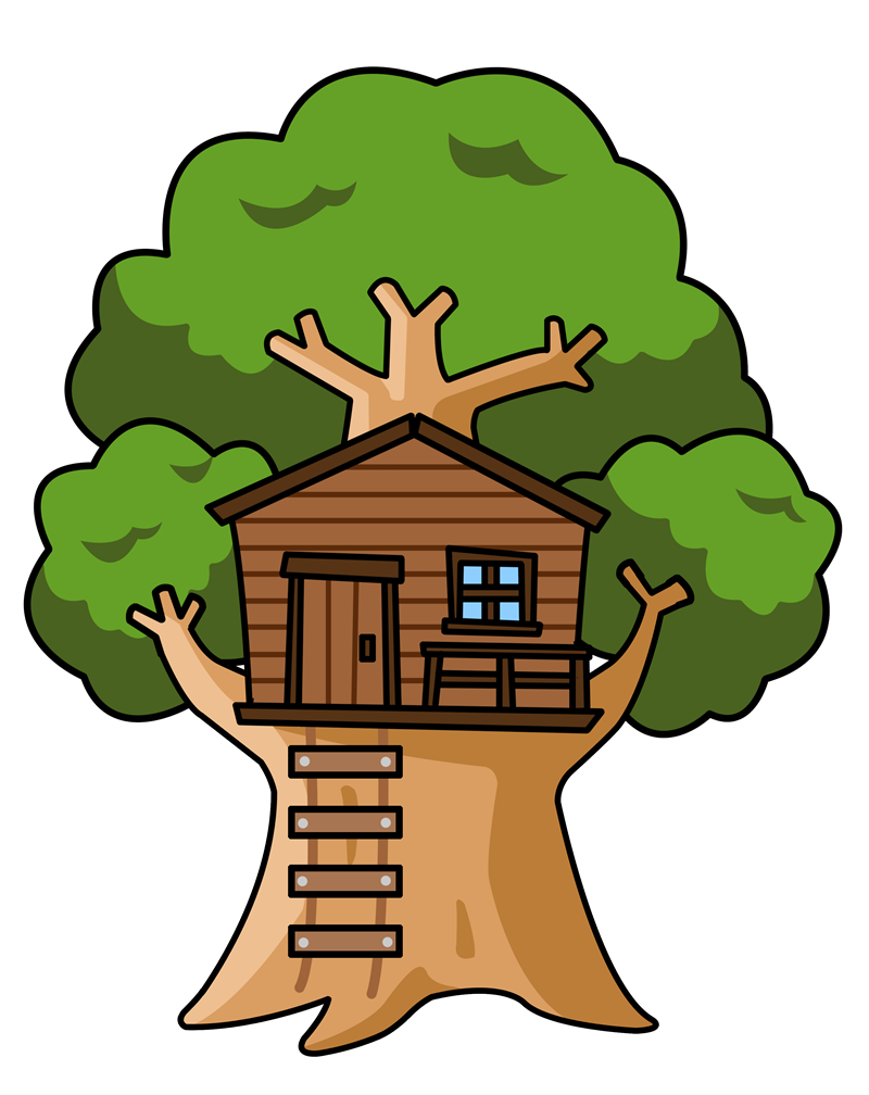 treehouse clipart rh worldartsme com Magic Tree House Magic Tree House