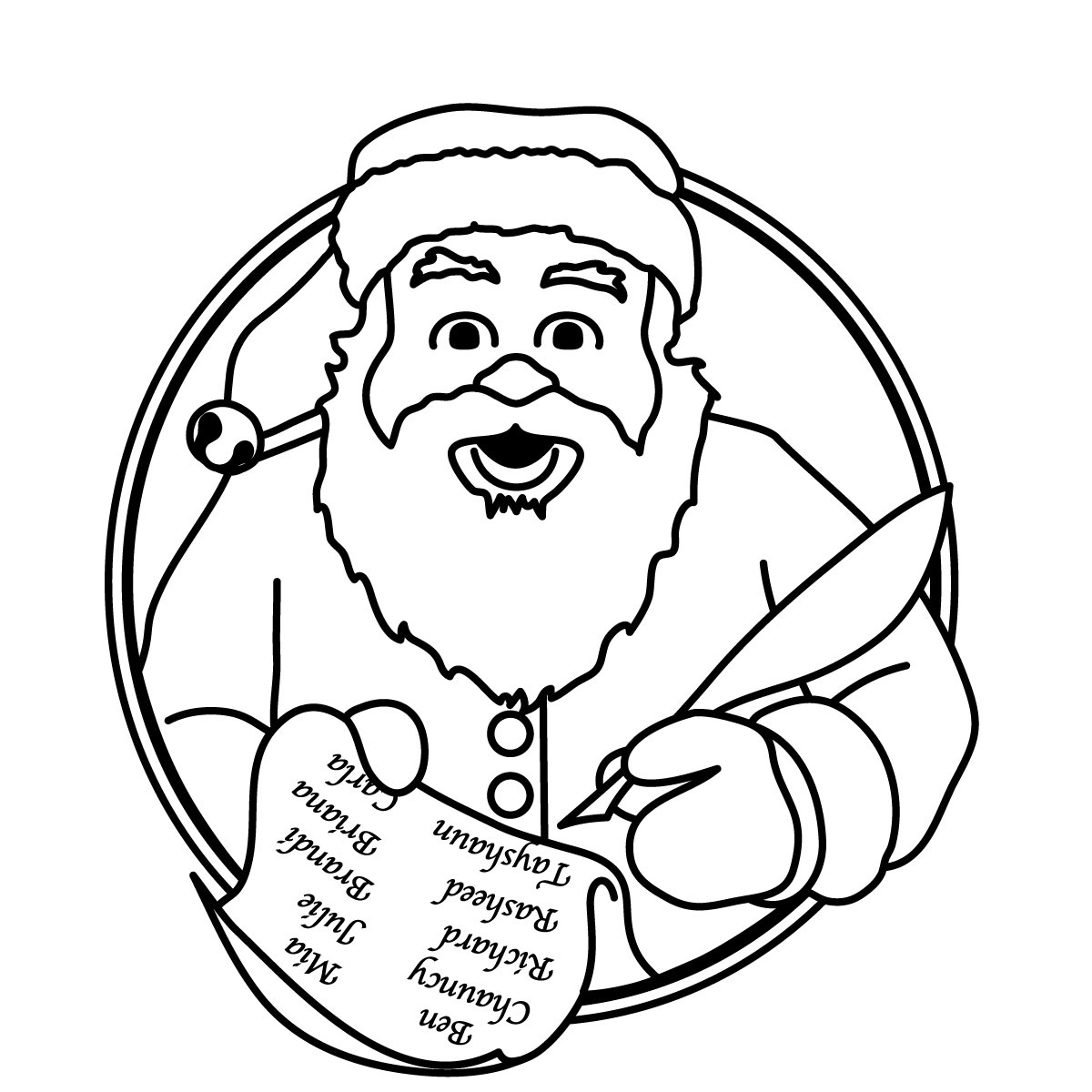 Xmas Stuff For > Merry Christmas Border Clipart Black And White