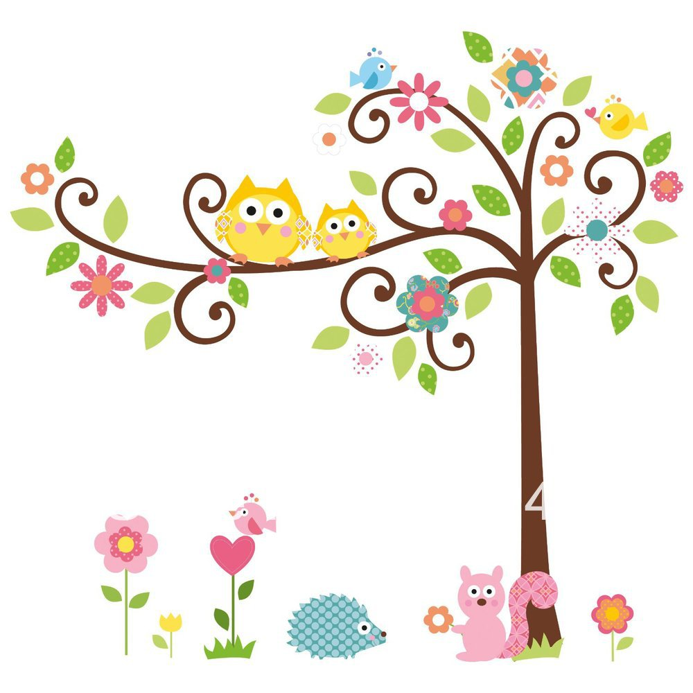 Owl On Branch Clip Art - Cliparts.co