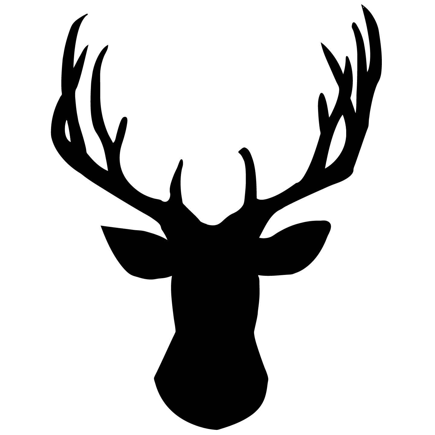 Deer Head Pictures - ClipArt Best