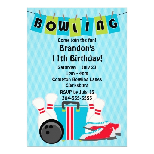 Bowling Party Invitation Templates - Cliparts.co