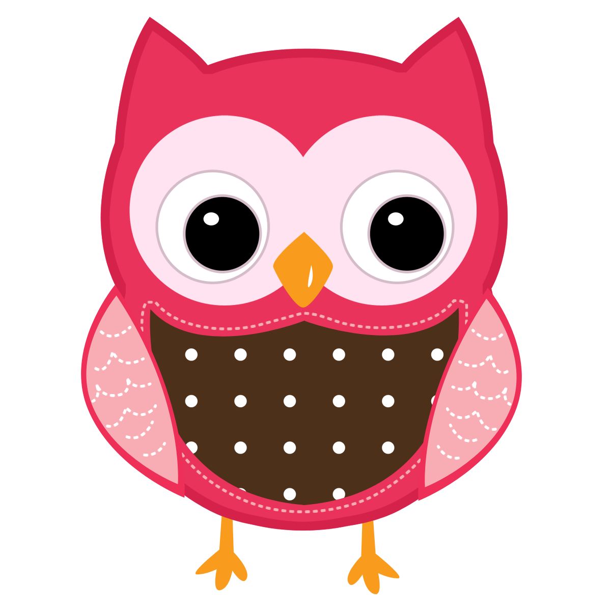 Cartoon Owl Face - ClipArt Best