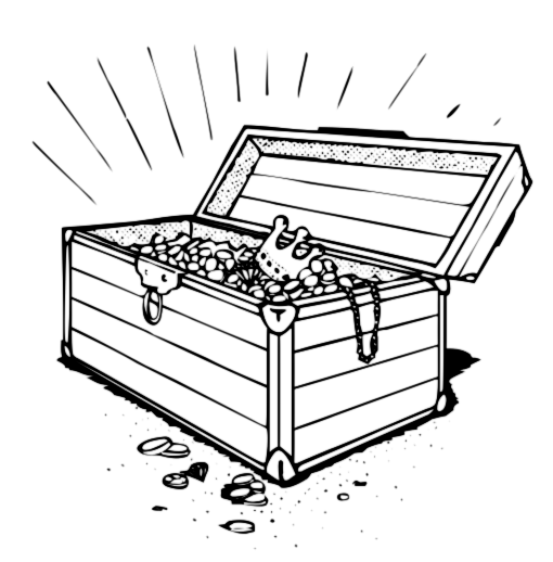 Treasure Chest Art - Cliparts.co