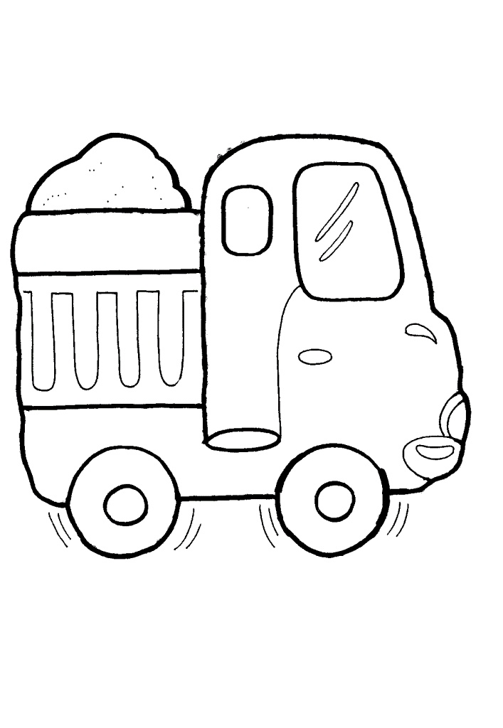 cardinal coloring pages preschool truck - photo#30