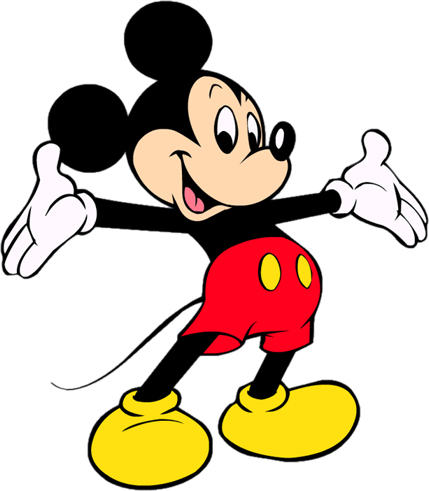 Disney's Mickey Mouse Clipart 19 --> Disney-