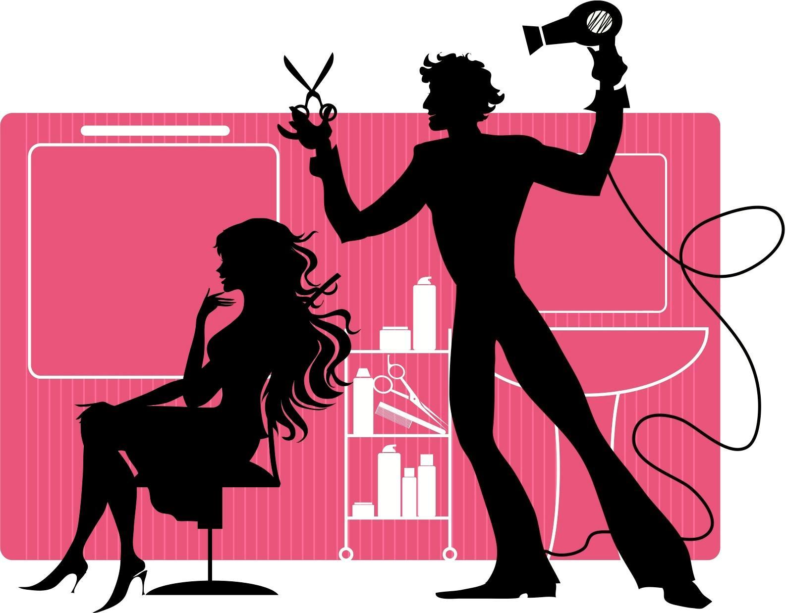 Hair Stylist Clipart - Cliparts.co