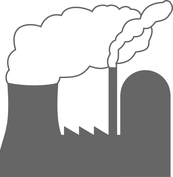 Power Plant clip art - vector clip art online, royalty free ...
