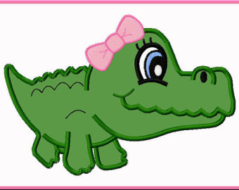 Pix For > Pink Alligator Clipart - Cliparts.co