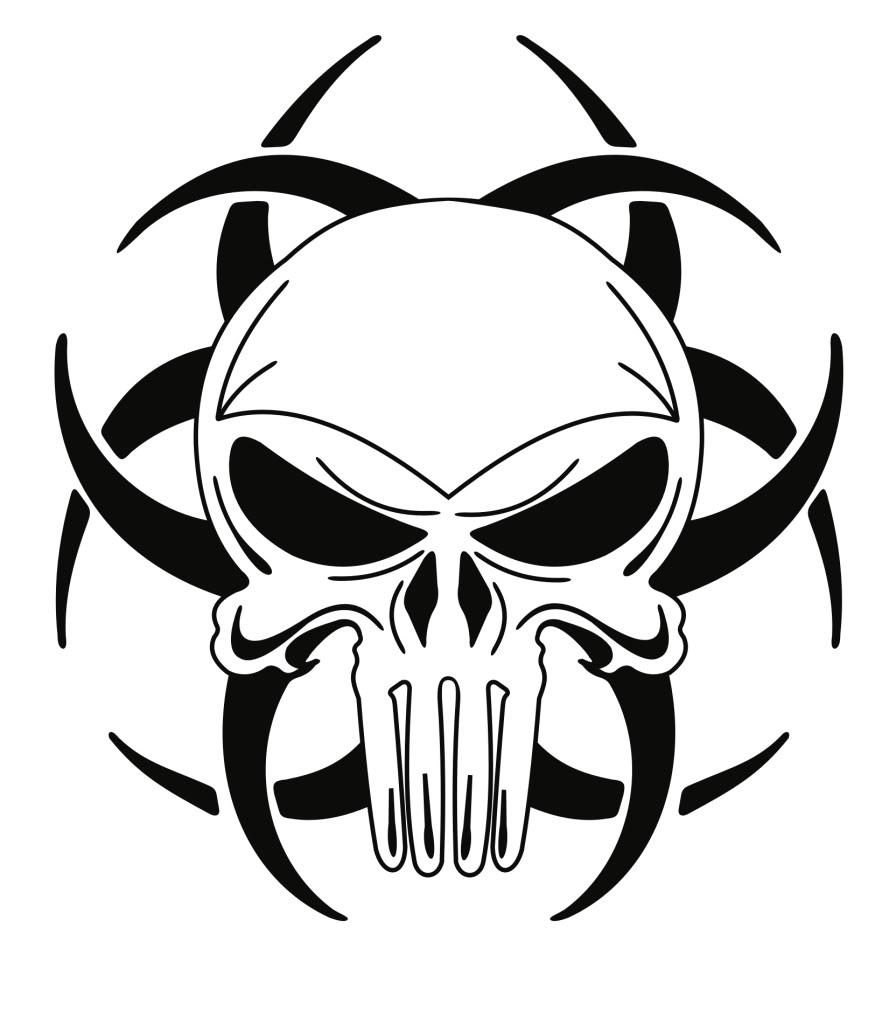 Easy Skull Drawings - ClipArt Best
