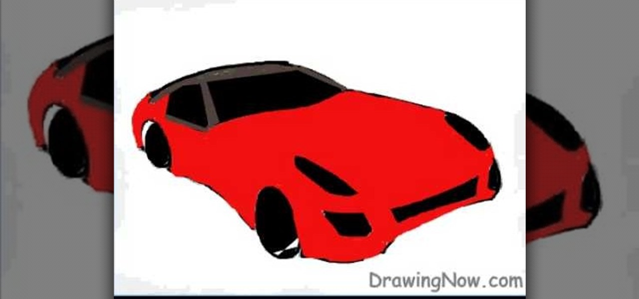 how to draw a ferrari logo