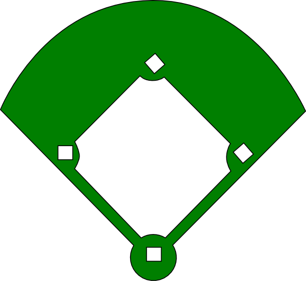 Blank Baseball Diamond