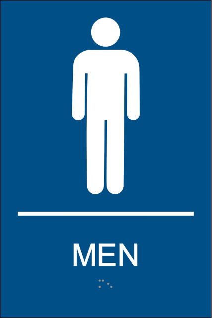 Male Restroom Sign Cliparts Co