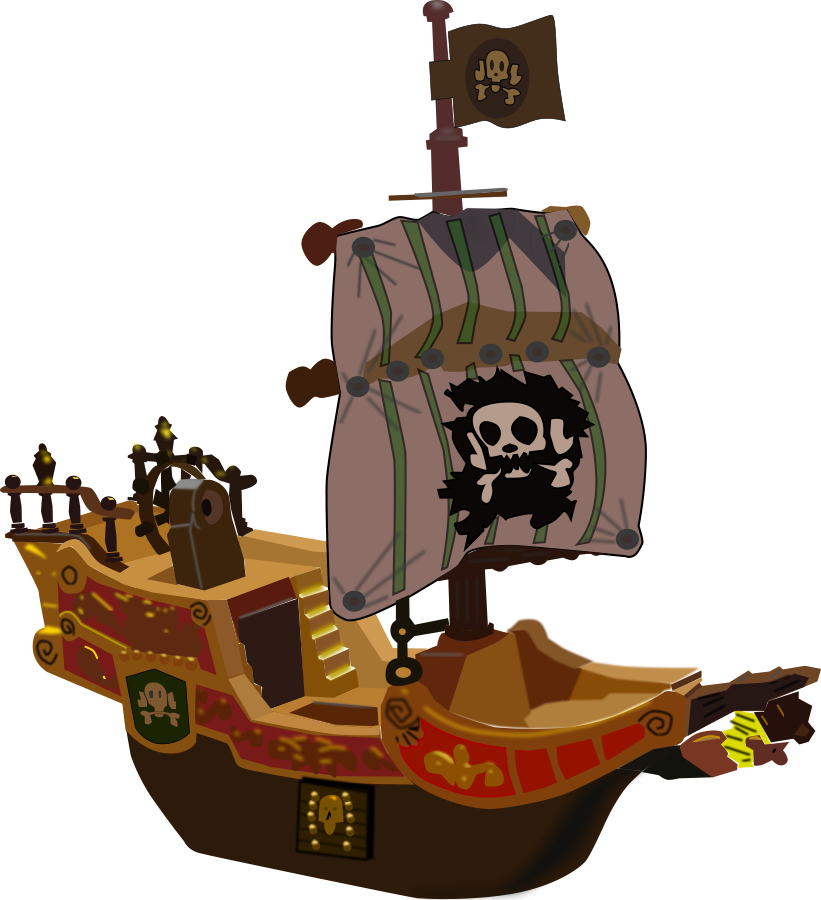 Pirate Ship Clip Art - Cliparts.co