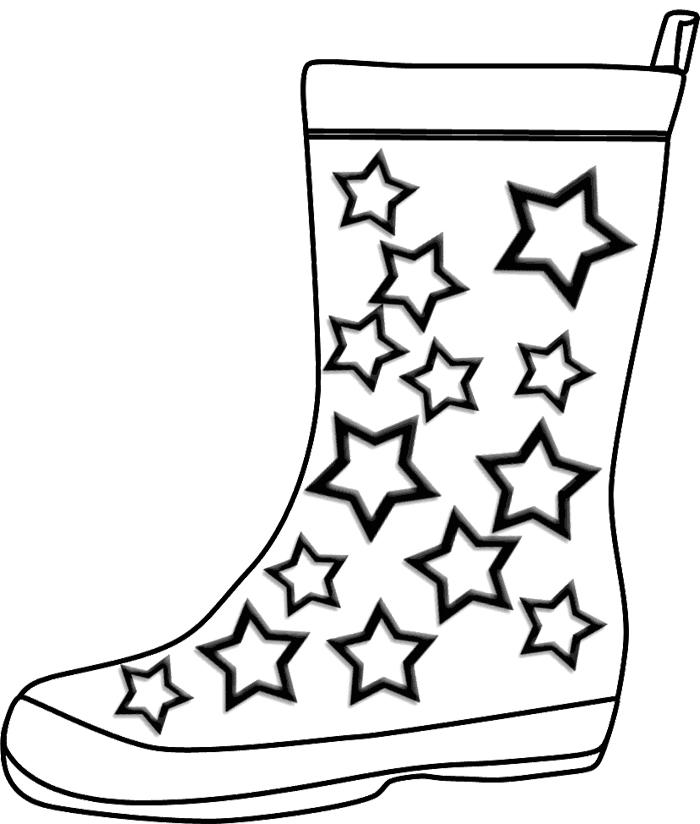 cartoon cowboy boot  clipartsco