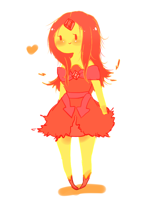 Image - Flame princess by splicedlamia-d4pfww3.png - The Adventure ...