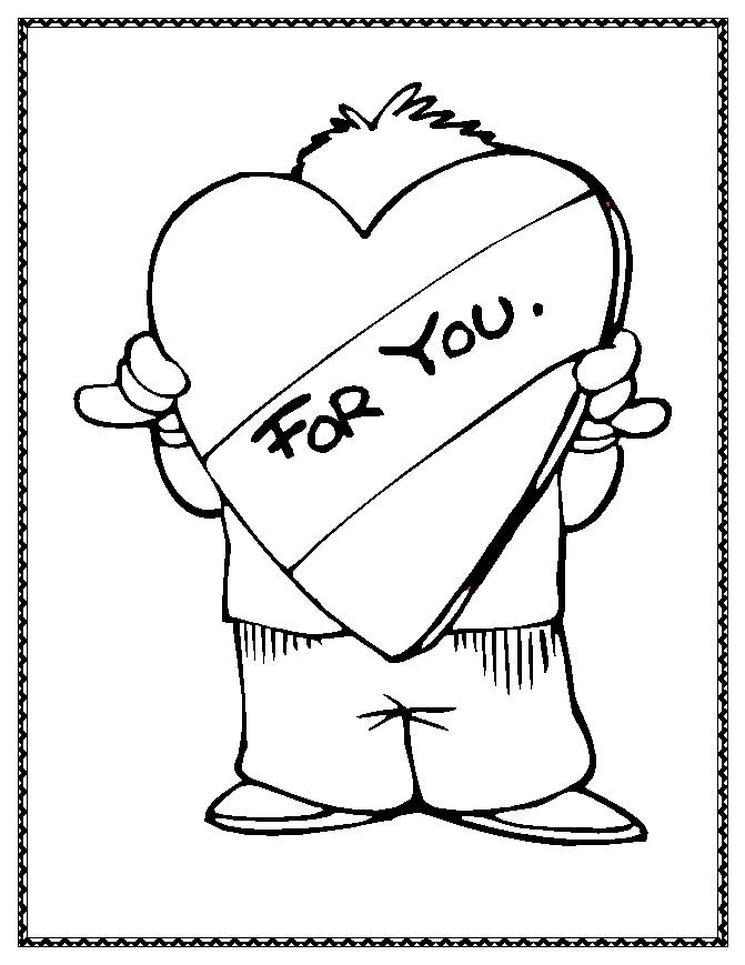 Valentines Coloring Pages Free Free Printable Coloring Pages 2014 ...