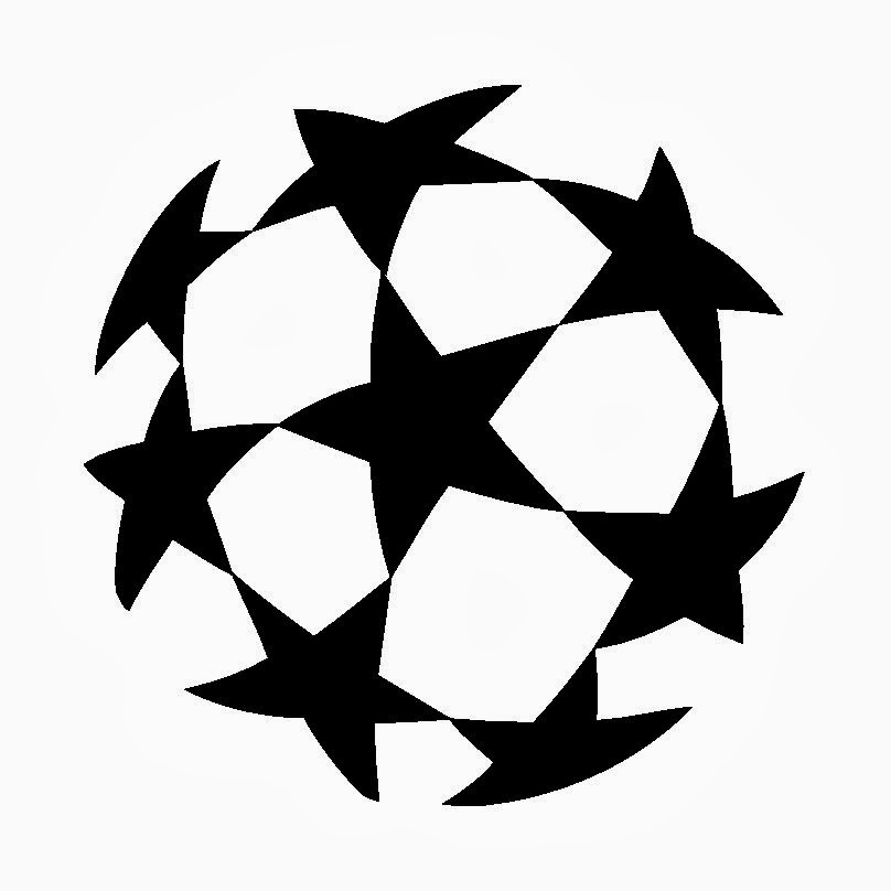 quiz logo: very popular uefa champions league logo