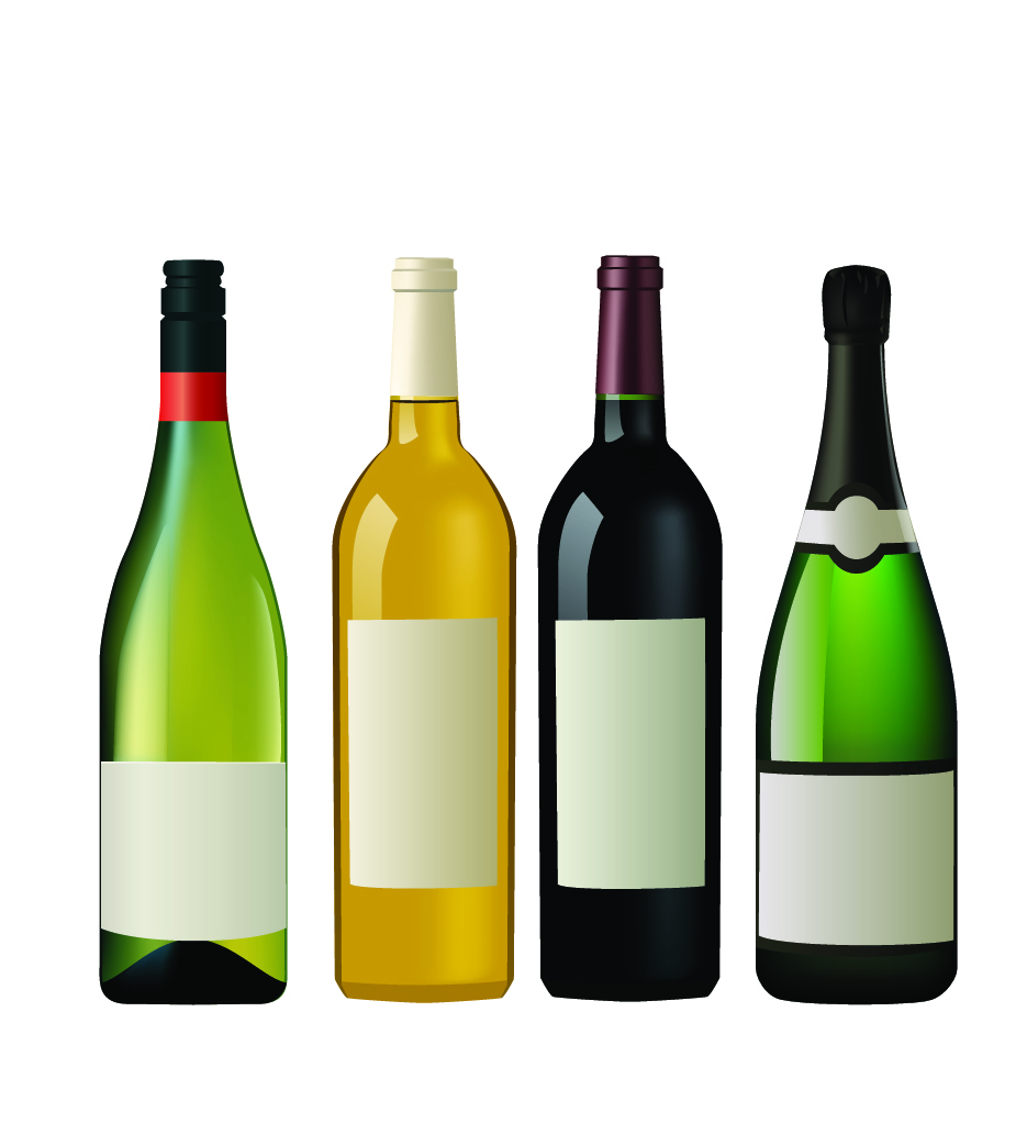 Wine Bottle Vector Cliparts Co