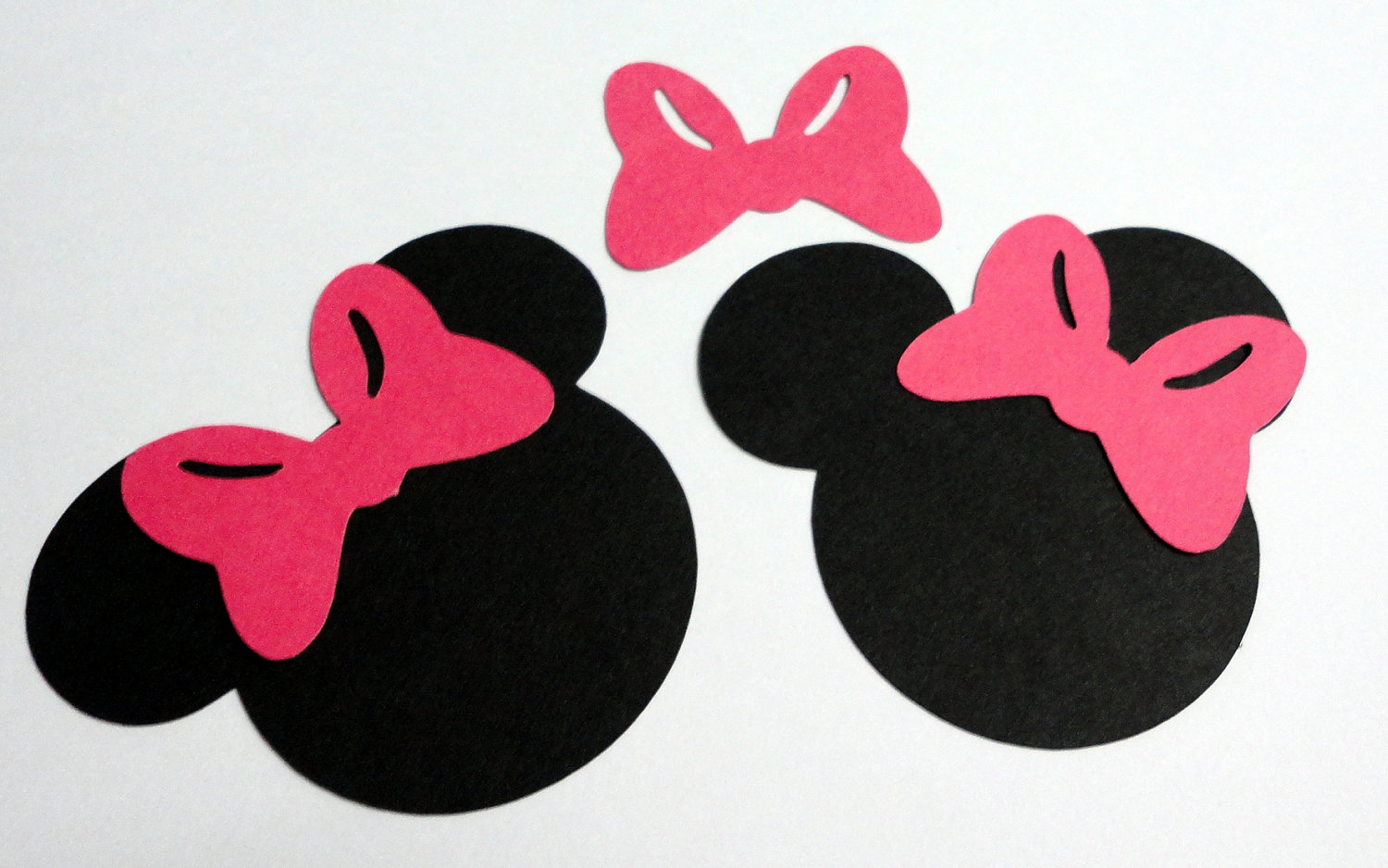 Minnie Mouse Bow Outline