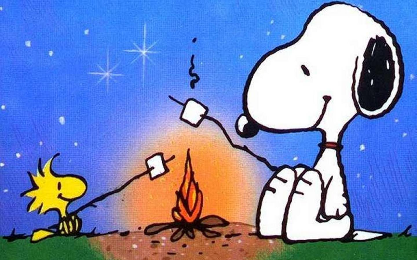 cir snoopys campfire stories - HD 1440×900