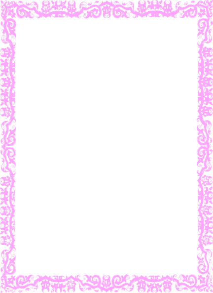 Girly Border Cliparts Co