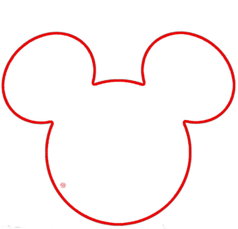 Mickey Mouse Ears Template Printable - Cliparts.co