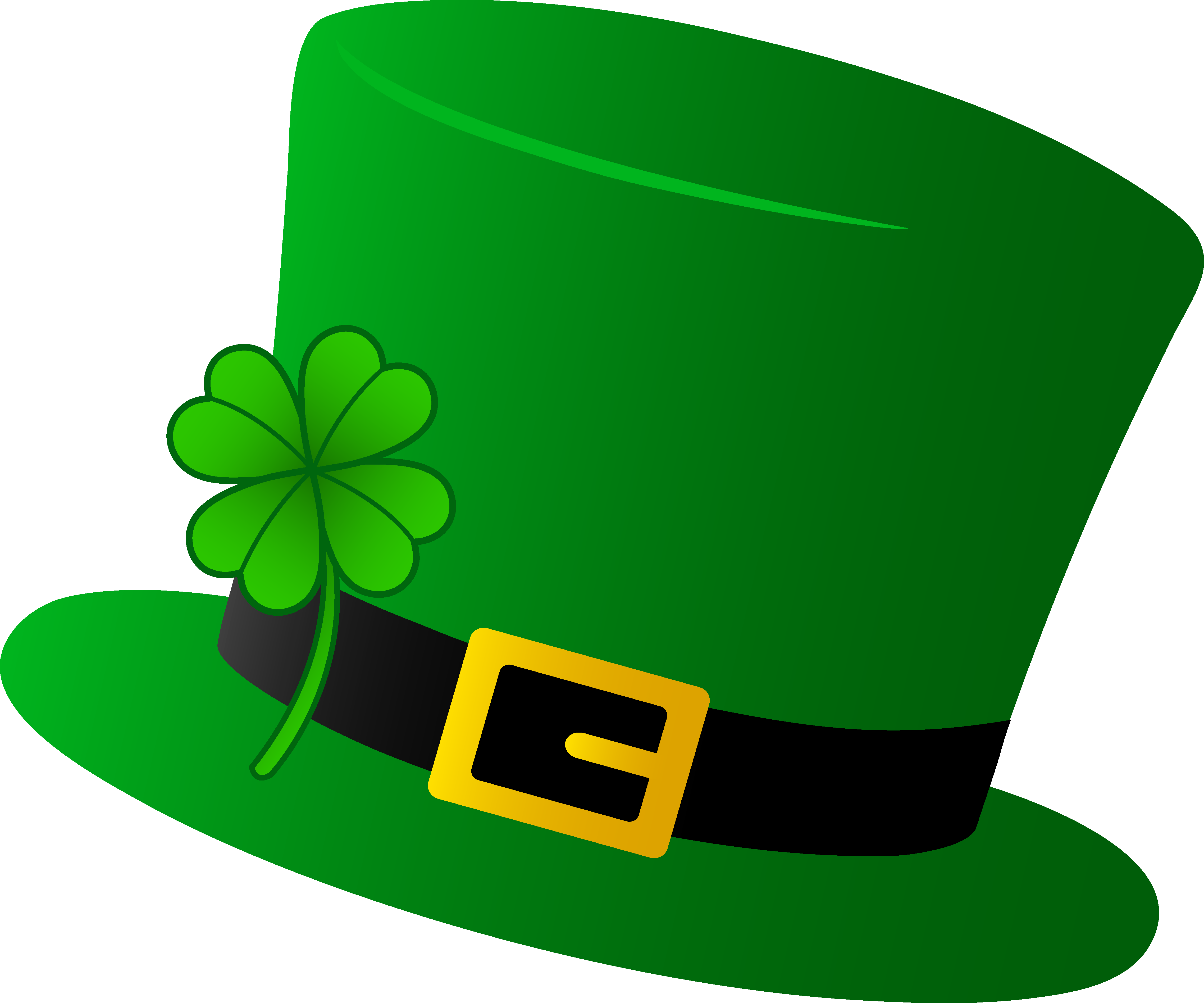 Green Saint Patricks Day Hat - Free Clip Art