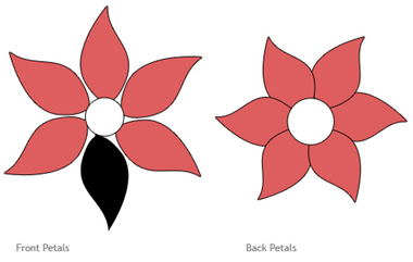 Printable eight petal flower template Mike Folkerth - King of ...