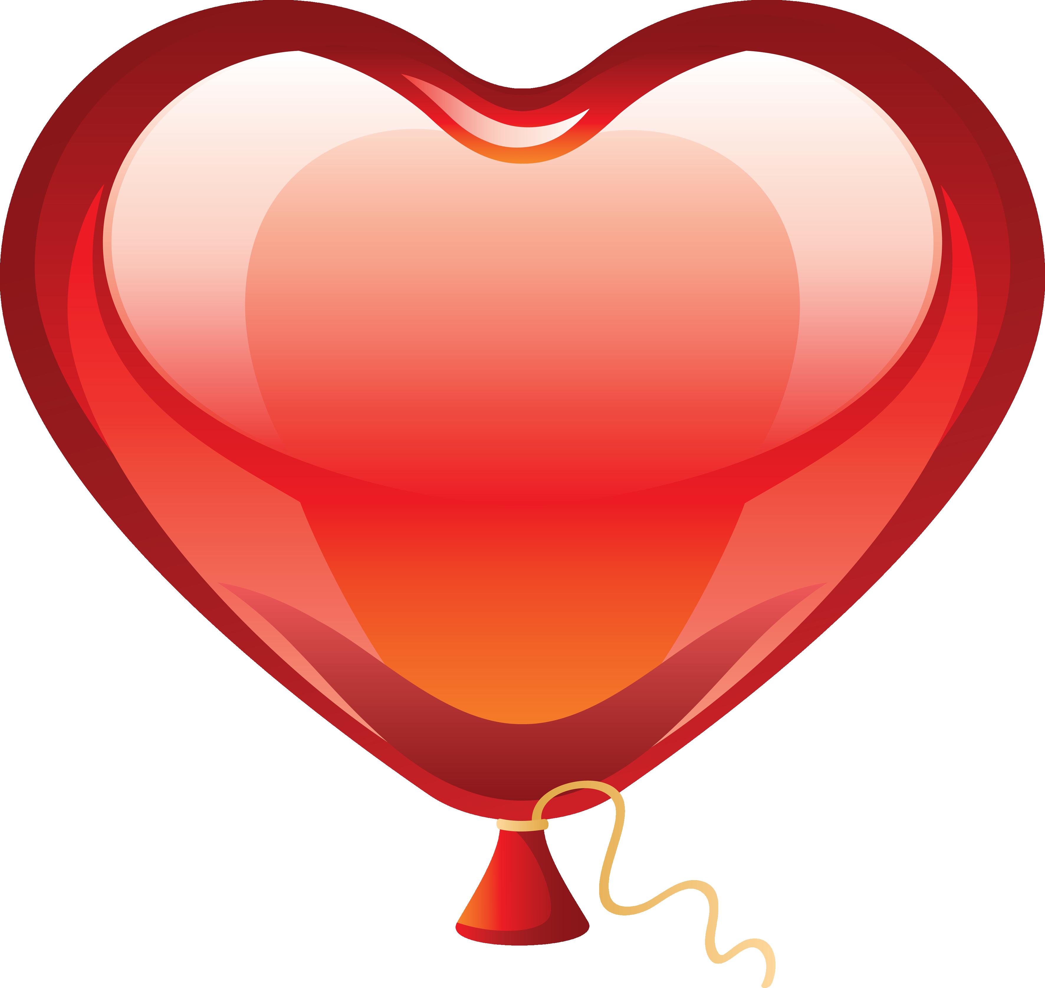 Heart Balloon Clip Art - Cliparts.co