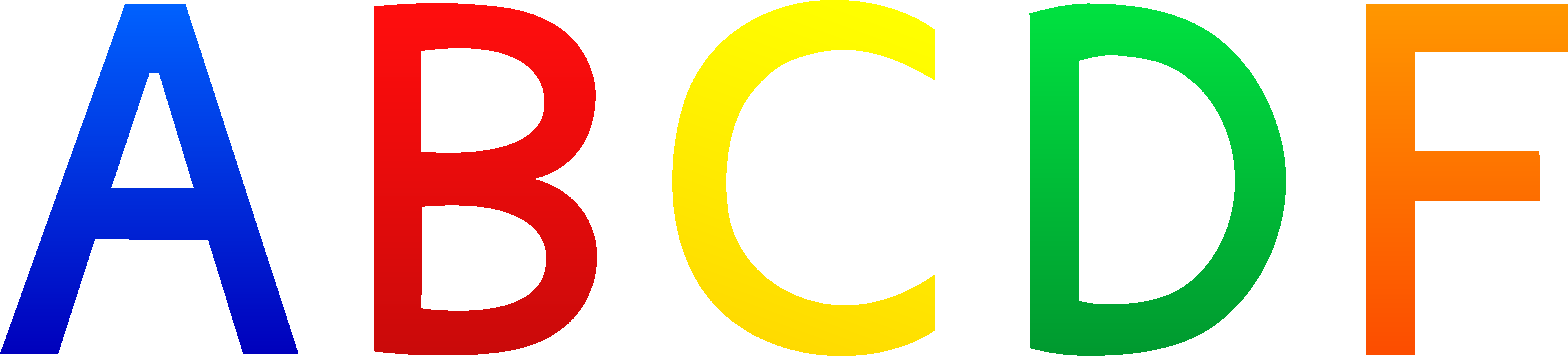 Free Alphabet Clipart Letters - Cliparts.co