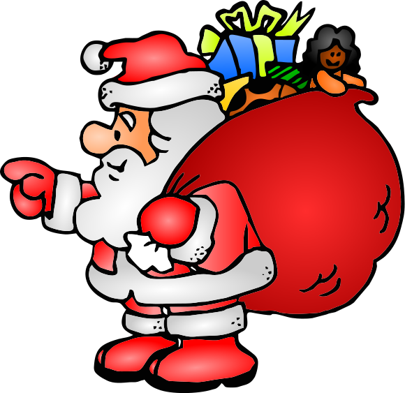 Father Christmas Clipart | Cool Eyecatching tatoos