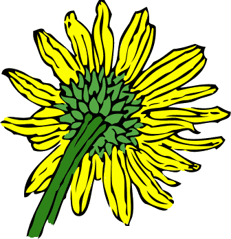 Free Sunflower Clipart - Public Domain Flower clip art, images and ...