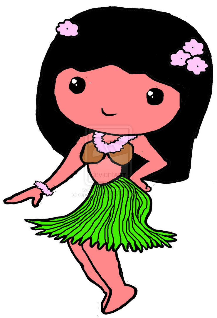 Hula Dancer Images - Cliparts.co