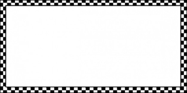 Worldlabel Border Bw Checkered X clip art Vector | Free Download