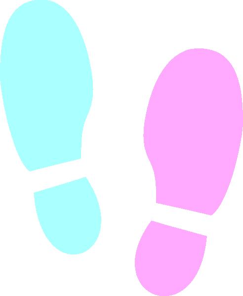 Shoe Print clip art - vector clip art online, royalty free ...