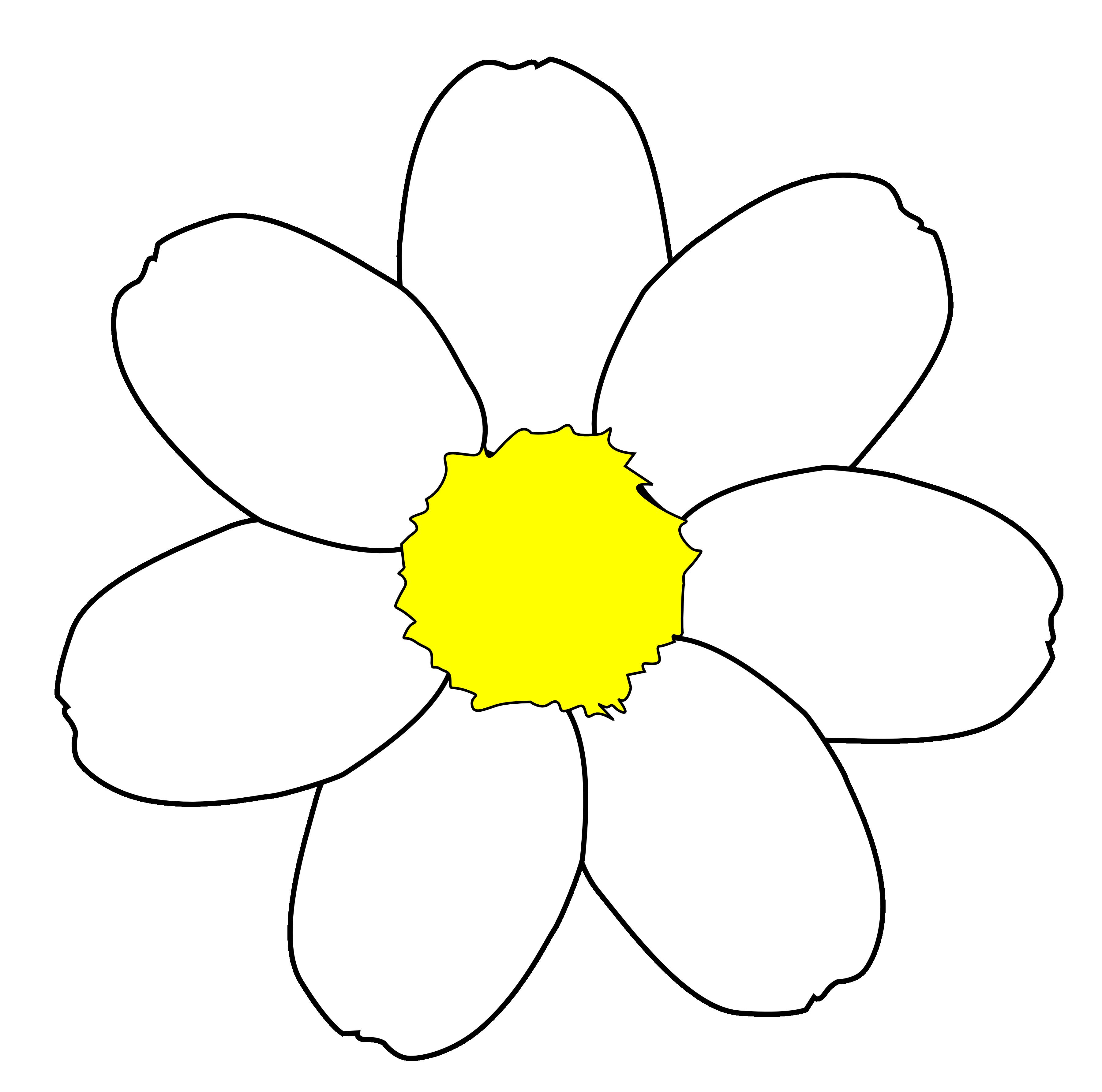 Clip Art Daisy Flower Cliparts Co