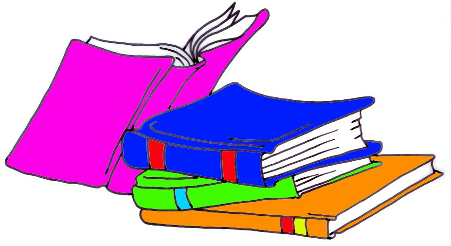 Library Books Clip Art - ClipArt Best